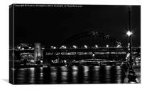 Newcastle Tyne Bridge, Canvas Print