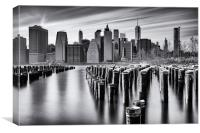 NYC monochrome, Canvas Print