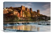 Durham City, Canvas Print