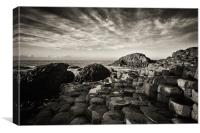Giants Causeway, Canvas Print