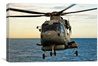 Royal Navy Merlin, Canvas Print