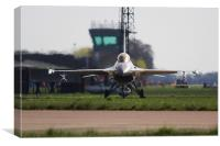 Danish Air Force F16 at RAF Coningsby 2013, Canvas Print