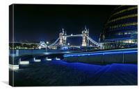 London Tower Bridge & London City Hall, Canvas Print