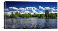 Danson Lake, Canvas Print