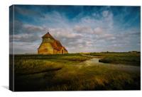 St Thomas Becket Church, Kent, UK, Canvas Print