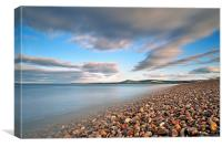 Spey Bay Beach, Canvas Print