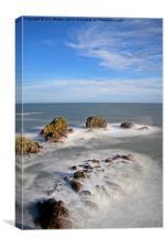 Rocks North Sea, Canvas Print