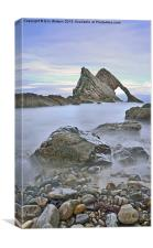 Bow Fiddle Rock, Canvas Print