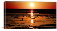 Sunset Peach, Canvas Print