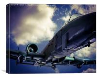 Fairchild Republic A-10 Thunderbolt II, Canvas Print