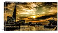 Shard Moods, Canvas Print