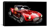 Vintage Sports Car, Canvas Print