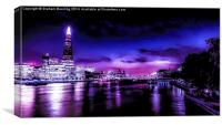 London Moods, Canvas Print