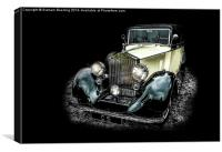 Classic Car, Canvas Print