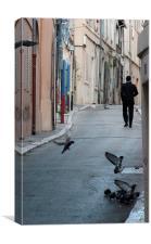 Marseilles, Canvas Print