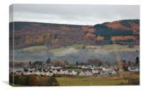 Autumn in Scotland, Canvas Print