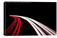 Fast Cars again, Canvas Print
