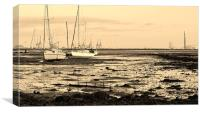 Isle of Grain/Sheerness, Canvas Print