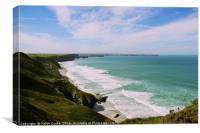 Watergate Bay/ Newquay, Canvas Print