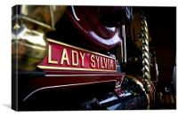 Lady Sylvia, Canvas Print