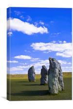 Avebury Stones, Canvas Print