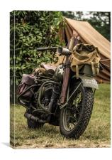 War Bike, Canvas Print