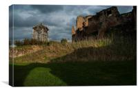 Kenilworth castle, Canvas Print