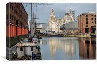 Albert Docks, Liverpool, Canvas Print