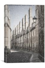 Trinity Lane , Canvas Print