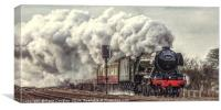 The Flying Scotsman, Canvas Print