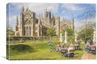 Ely Cathedral from the East, Canvas Print