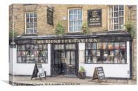 The Minster Tavern, Canvas Print