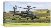 Flight of the Apache, Canvas Print