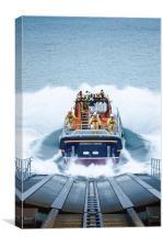 Lifeboat Splash, Canvas Print