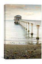 Bembridge Lifeboat Station, Canvas Print