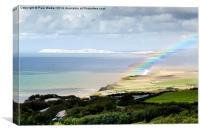 Coastal Rainbow, Canvas Print