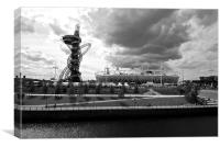 Olympic Park London 2012, Canvas Print