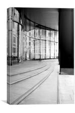 City Views - leading lines, Canvas Print