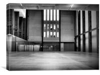 Empty spaces Tate Modern, Canvas Print