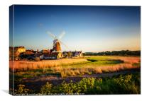 Cley Windmill North Norfolk, Canvas Print