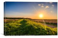 North Norfolk Walking Trails, Canvas Print