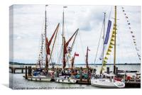 Nautical Colour At Harwich Sea Festival, Canvas Print