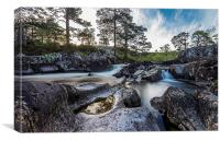 River Affric, Canvas Print