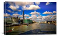 River Thames, Canvas Print