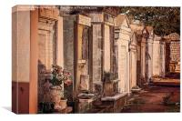 Lafayette Cemetery, New Orleans, Canvas Print