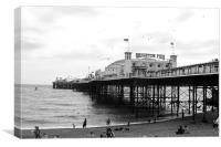 Brighton Pier, Canvas Print