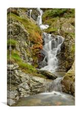 Helvellyn Waterfall, Canvas Print