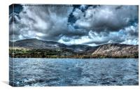 Storm over Coniston, Canvas Print