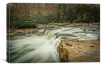 Ohio Pyle Waterfalls, Canvas Print
