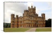 Downton Abbey, Canvas Print